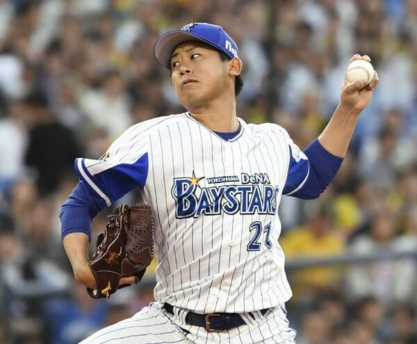 セ・リーグ投手部門で選出のDeNA・今永昇太。高い三振奪取能力が決め手となった