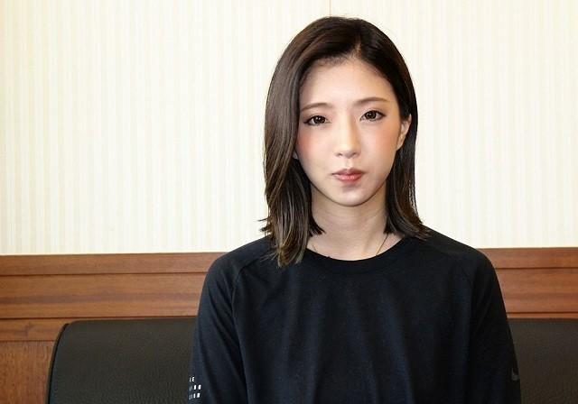 女子49キロ級の有力選手である松井優茄がテコンドー観戦の魅力を語った