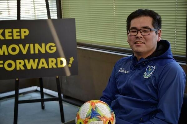 運営担当の野崎治之は、J3に降格した15年シーズンを知る数少ないひとり。クラブの改革を肯定的に見ている