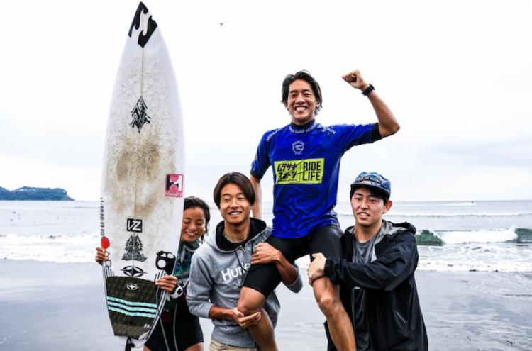 嬉しいQS初優勝! PHOTO: © WSL/Nishiguchi