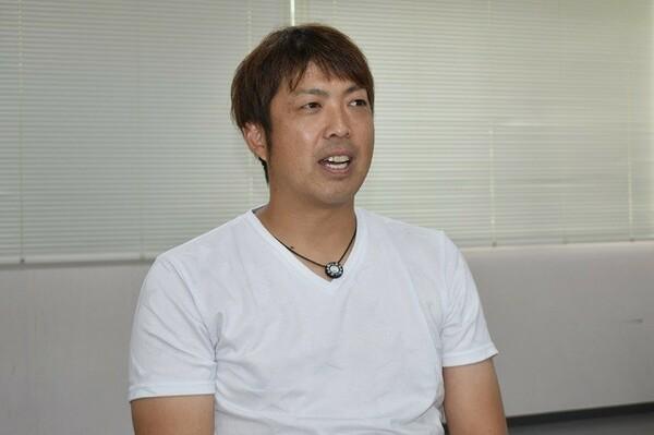 李ボム浩の元同僚、井手正太郎氏。故郷宮崎のマンゴーなどの特産物をネットショップなどで販売する事業を行っている
