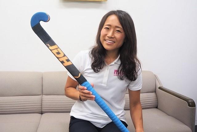ホッケー女子日本代表「さくらジャパン」の中心選手、及川栞に競技観戦の醍醐味を聞いた