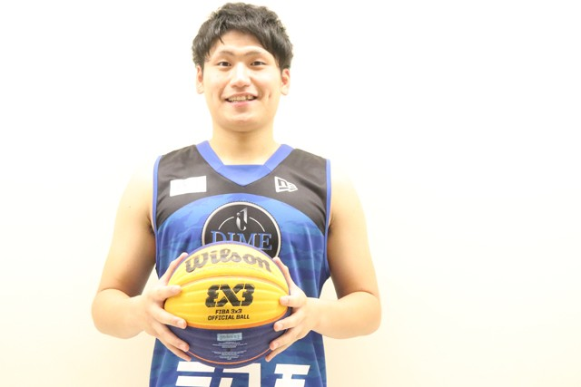 大学ナンバーワンスコアラーの杉本天昇。東京五輪で新たに採用された「3x3(スリーエックススリー)」の日本代表候補に名を連ねる