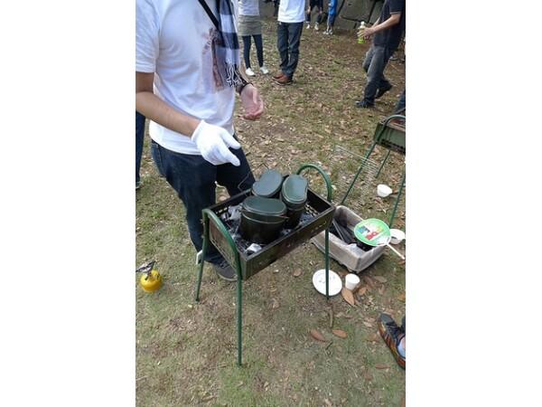 方 飯盒 炊き