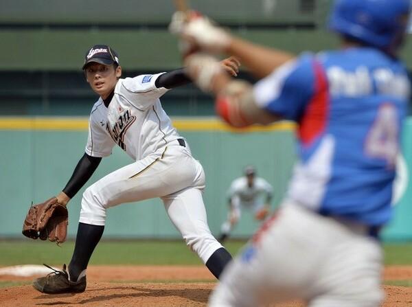侍トップチームでも活躍する松井裕樹は、高校時代からU18のエースだった