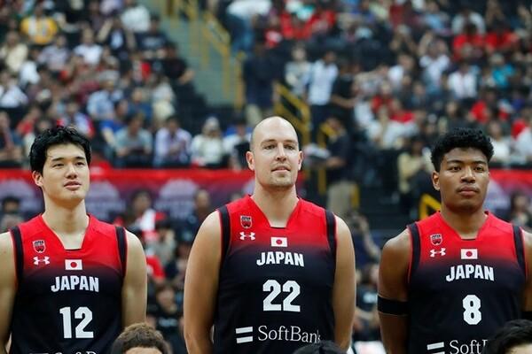 「ビッグ3」と評される渡邊(左)、ファジーカス(中)、八村(右)。日本代表にとって欠かせない存在だ