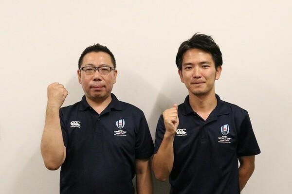組織委員会の森重紹一氏(写真左)と渡邊聖氏(同右)を招いた第96回講演では、チケット販売のプロモーション、おすすめチケットについて話が及んだ