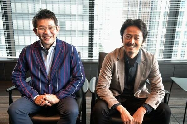 デロイトトーマツ執行役員の宮下剛さん(左)とシニアマネージャーの森松誠二さん。今回のプロジェクトを主導した