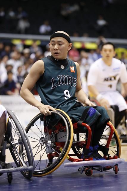 車いすバスケとの出会いは小学4年のとき。地元・埼玉ライオンズの見学がスタートラインだった。中学進学後に本格的に競技を始めている