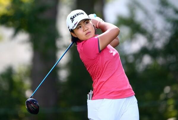 日本女子プロゴルフ選手権に初出場する畑岡。同学年の渋野との対決も注目だ