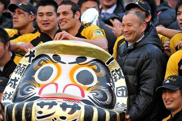 11年W杯は当時サントリーの監督を務めていたこともあり、日本にも注目していた