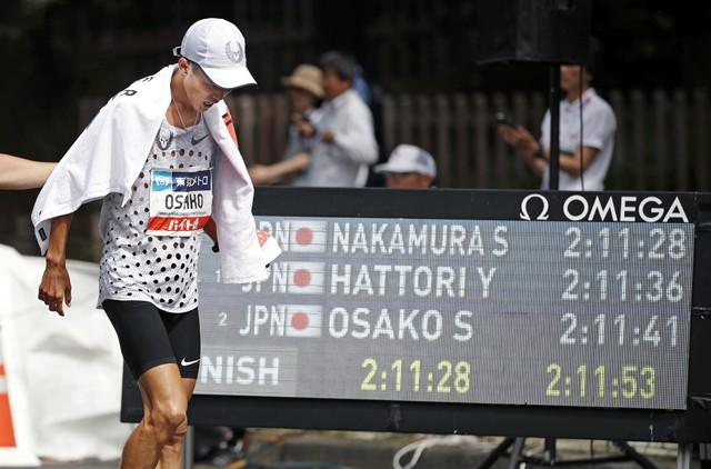 日本記録保持者の大迫は代表内定の2位以内に入れず、今後、難しい判断を迫られることになる