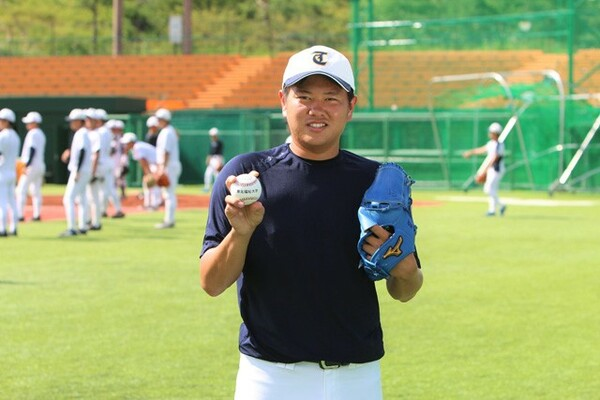 高校卒業時に故郷・和歌山からはるばる仙台へ。津森宥紀は東北福祉大で鍛え上げた技術、体力、メンタルをアピールしてドラフト上位指名を待つ