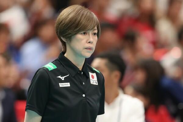中田久美監督が大会前に掲げた課題のうち、攻撃力の強化はなかなか実を結ばず