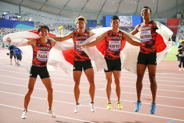 日本が得た「銅・アジア新」以上の収穫 伊東浩司氏による男子100m ...
