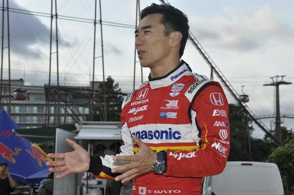 日本GPの思い出を語ってくれた佐藤琢磨