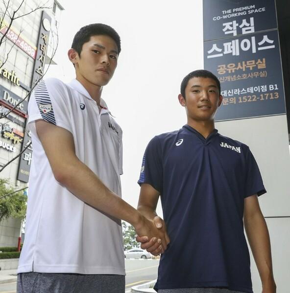 今季のドラフトの超目玉は、高校生の佐々木(左)と奥川。現在の力だけでなく、将来性についても現役スカウトが話した