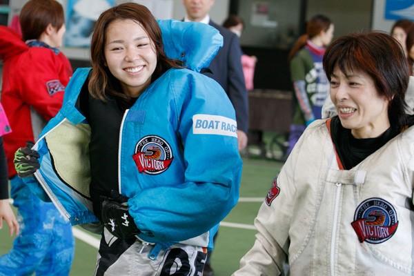 大山選手が初めて1着を取ったレースは、何と母親と一緒のレースだったという