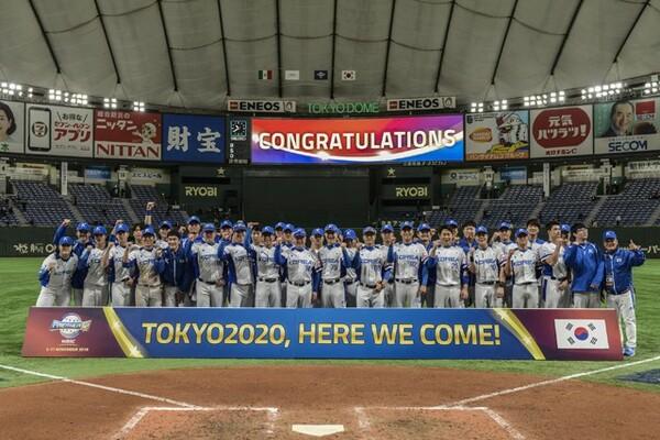 日本が決勝で対戦する韓国。15日のメキシコ戦で勝利し、東京五輪出場権をつかんだ