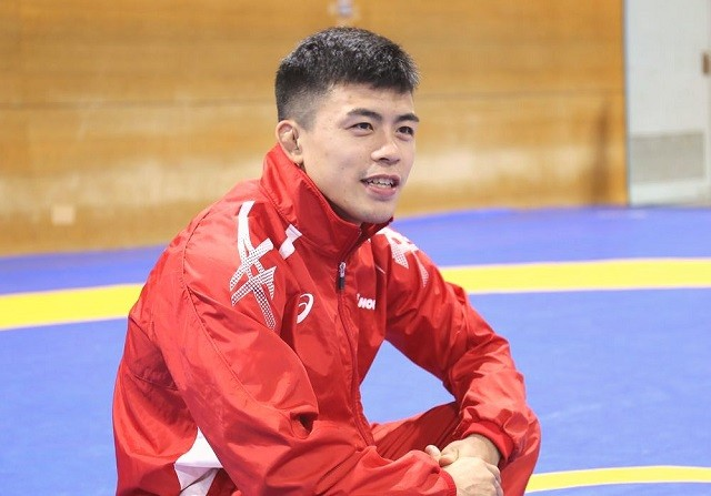 レスリング男子グレコローマンスタイル60キロ級で、金メダルが期待される文田健一郎が競技の魅力を語った