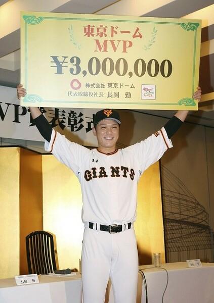 勝負どころでの快打で、今年も東京ドームを沸かせた坂本