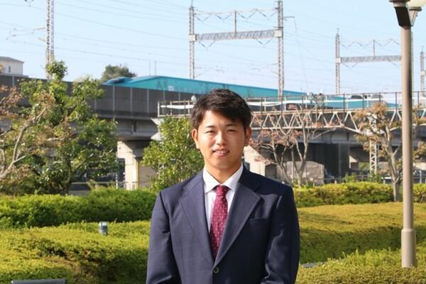 成長痛による痛みに一時は心が折れかけた時期があったという太田龍。JR東日本での3年間で、体、心ともに成長し、巨人のドラフト2位指名をつかみ取った
