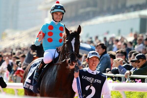 日本馬の中では3番手評価だったグローリーヴェイズだったが、鞍上モレイラには相当な自信があったようだ