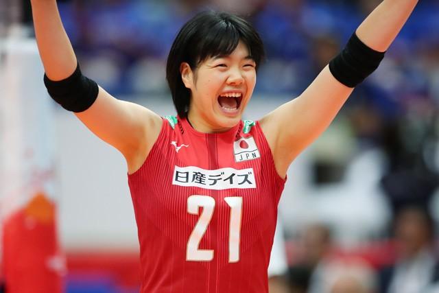攻撃力を武器に全日本に名を連ねる長内美和子