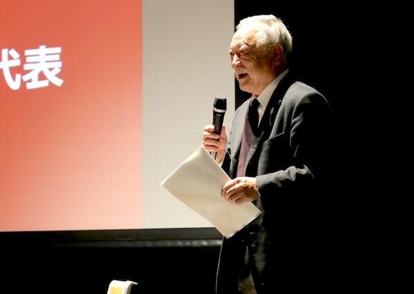 日本ラグビーフットボール協会の森重隆会長が講演を行った