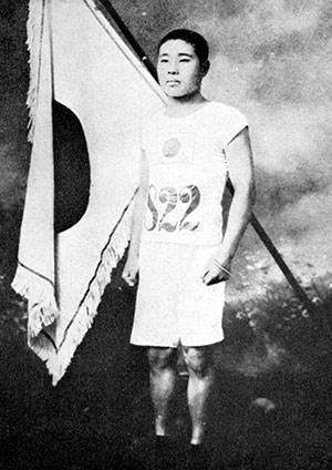 マラソンの父と言われ、箱根駅伝の創設にも尽力した金栗四三