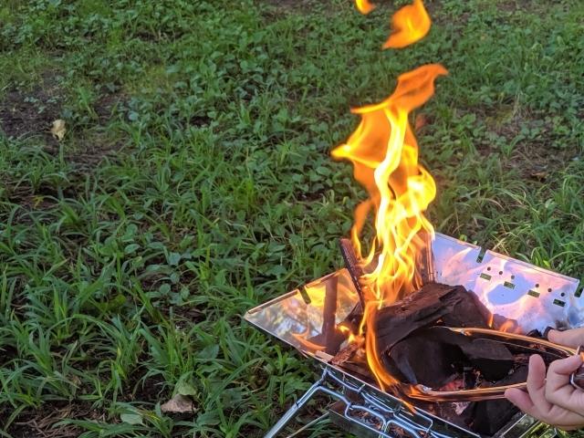 焚き火をするときのポイントや注意点