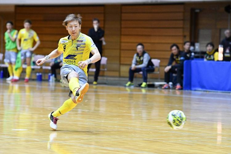 Fリーグ初代得点王の実績を持つ横江怜