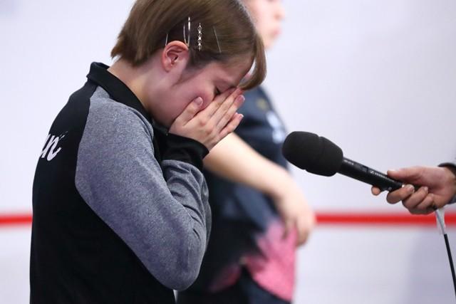 昨年12月シングルス代表の座を逃し涙を流した平野、母・真理子さんにとって「これが精一杯でした」という言葉が印象的だった
