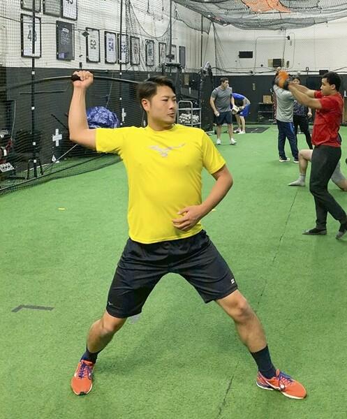 日本のプロ野球チームでもドライブラインへ派遣するところが出てきた。選手だけでなくデータアナリスト、バイオメカニスト、トレーナーも帯同させると効果も現れやすいだろう。写真は西武・中塚駿太がトレーニングを行っているところ