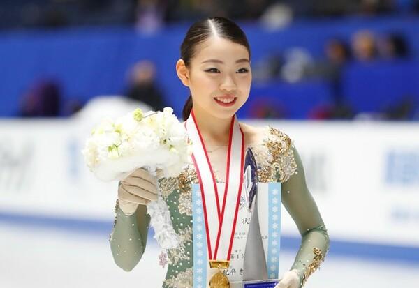 四大陸選手権の女子シングルには、日本代表として紀平梨花、樋口新葉、坂本花織の3名が出場する