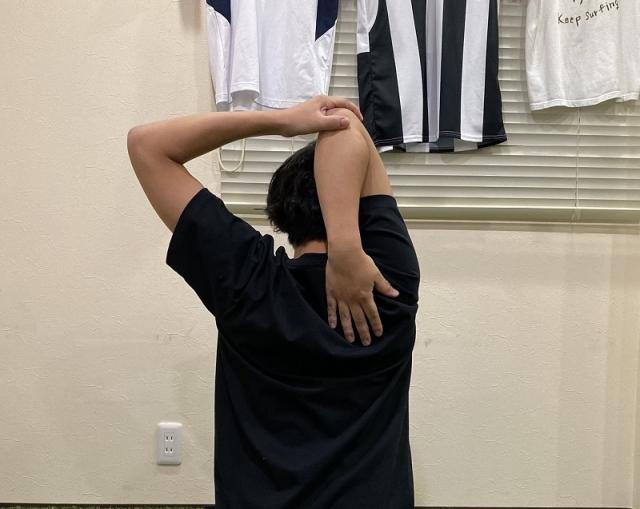 キッズトレーニング5 怪我予防!肩まわり・二の腕のトレーニング