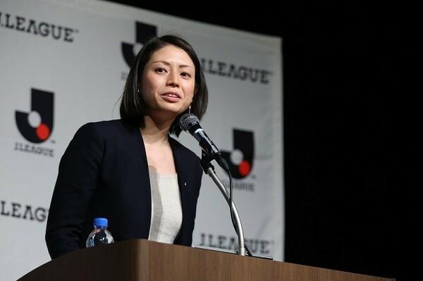 米田恵美理事は「シャレン」の推進について現状と今後のビジョンを力強く語った