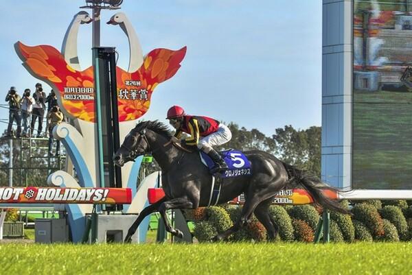 京都記念には秋華賞馬クロノジェネシス(写真)も出走する