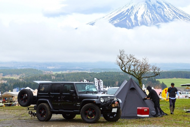 GO OUT JAMBOREEでは、オートキャンプや手持ちキャンプ券など、チケットによって色んなスタイルでキャンプを楽しめる。