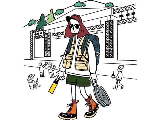 悪路でも歩きやすいアウトドアシューズ、紫外線から身を守れるキャップやハット、サングラス。さらに、行動中は貴重品やドリンク、雨具なども持ち歩くほか、途中でグッズを買う可能性も考えれば、サブバッグやアウトドアベストなど、収納アイテムも欠かせない。