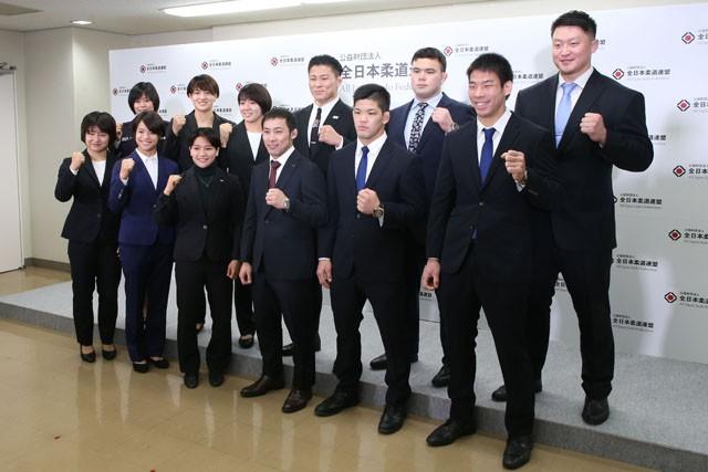 新たに柔道の東京五輪代表に内定した12人