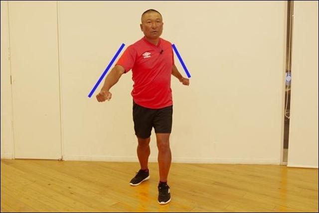 速く走る第一歩は正しい腕の振り方を身につけること