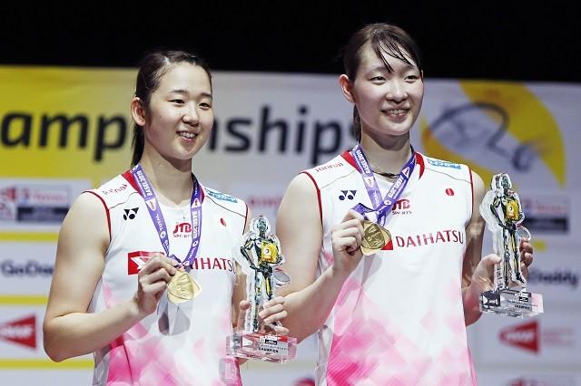 東京五輪の有力候補に挙げられる「ナガマツ」コンビ。世界選手権を連覇しており、金メダルの期待がかかる