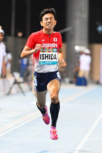 競技を始めてわずか10カ月で、400メートルの世界選手権5位に食い込んだ石田。東京パラリンピックでその雄姿を見られる可能性は高い