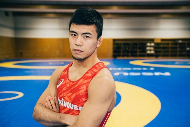 文田健一郎は、東京五輪のレスリンググレコローマンスタイル60キロ級で金メダル有力候補との呼び声が高い