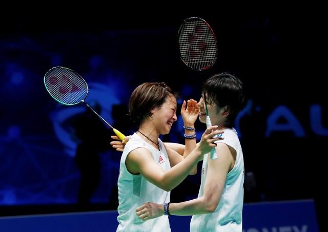 優勝を飾った福島/廣田組。確定とは言い切れないが、東京五輪出場を大きく手繰り寄せた