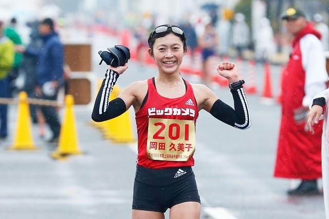 日本女子競歩界の第一人者に成長した岡田久美子。決して平坦ではなかったこれまでの歩みを振り返る
