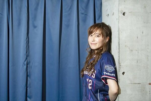 ヤクルトを愛してやまない声優・松嵜麗さん