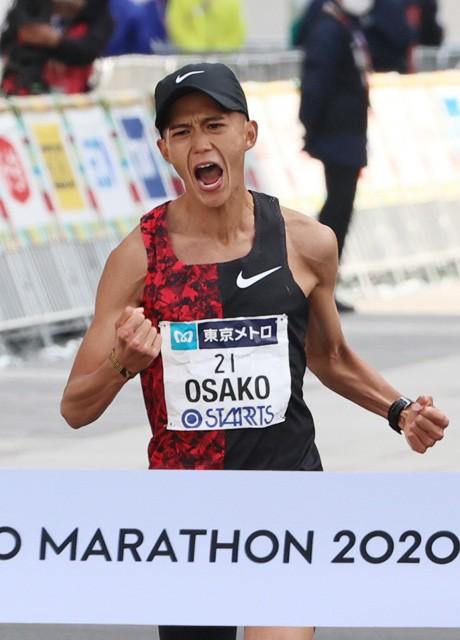 ケニア合宿を経て挑んだ今年3月の東京マラソンで、2時間5分29秒の日本記録を樹立した