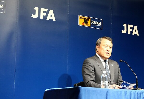 JFAは2月26日に全職員のテレワークを決定した